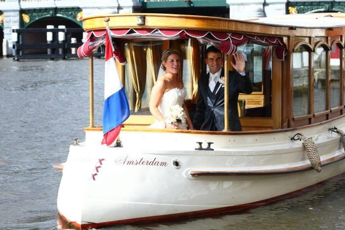 Rondvaart trouwen amsterdam