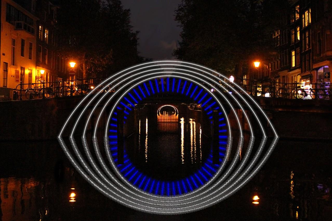 prive rondvaart amsterdam light festival